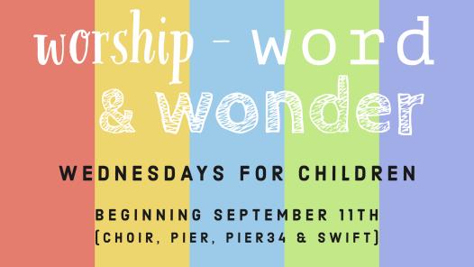 Worship, Word & Wonder Logo