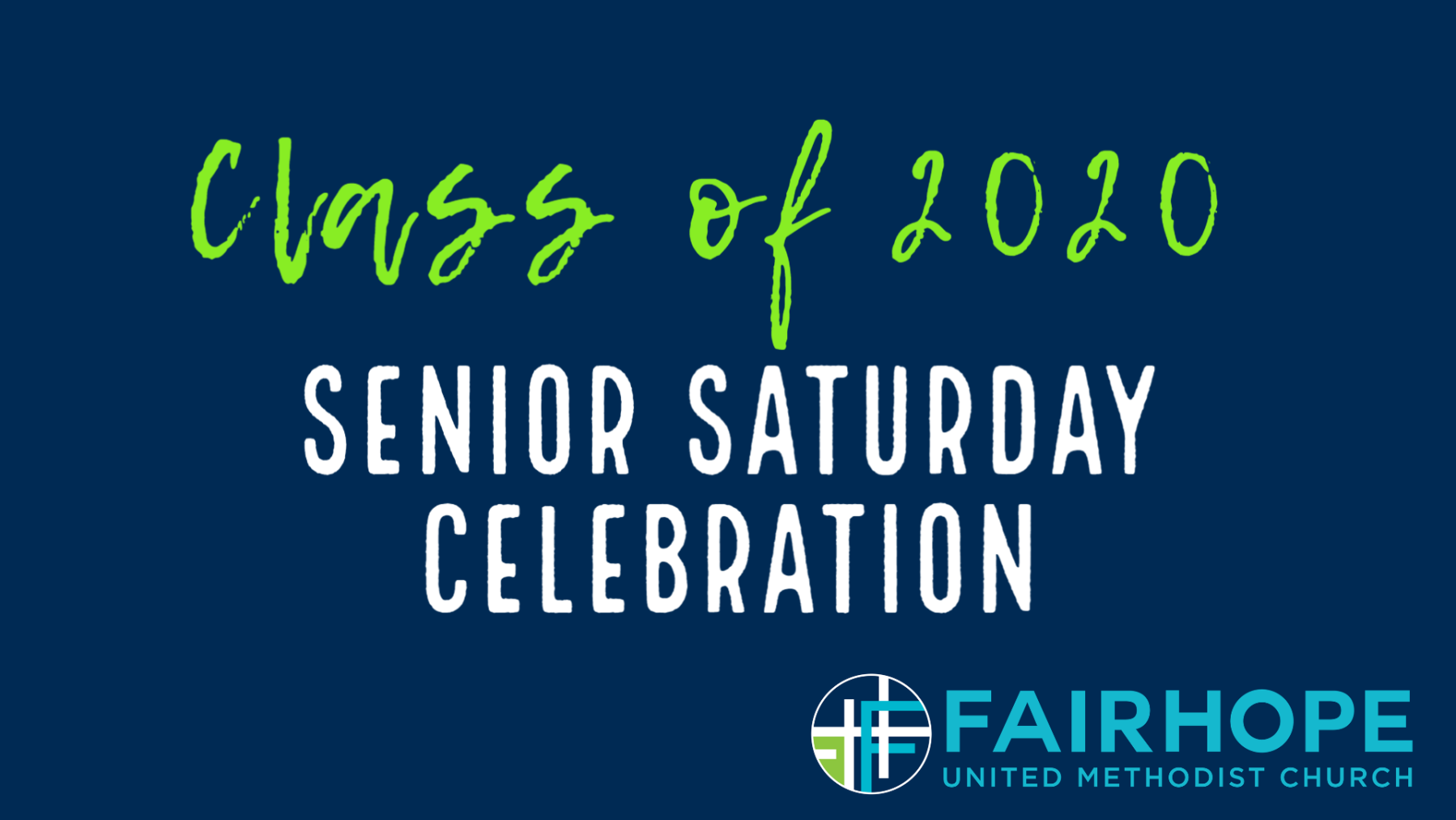 Senior Saturday Celebration